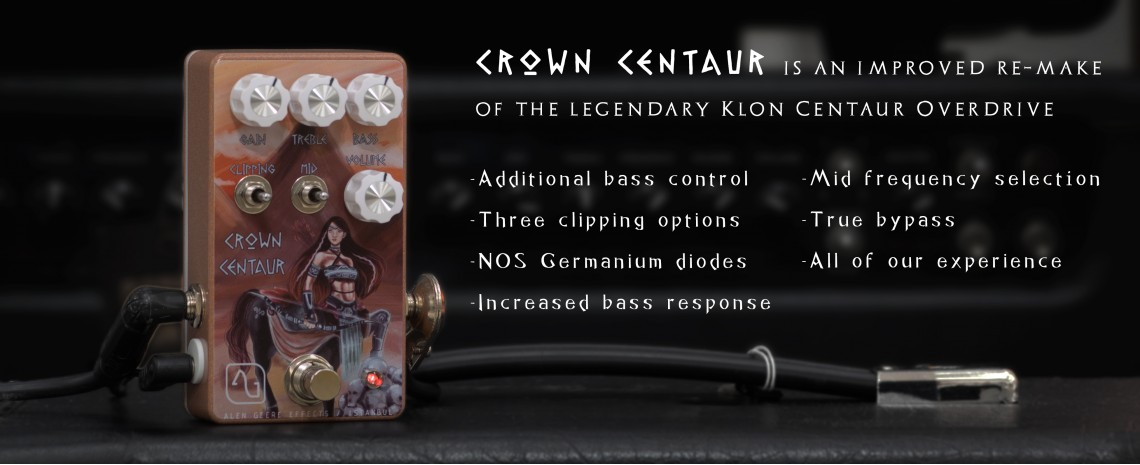 Crown Centaur Overdrive Pedal